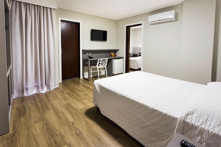 Habitación Conjugado Tropikalya Gold Hotel