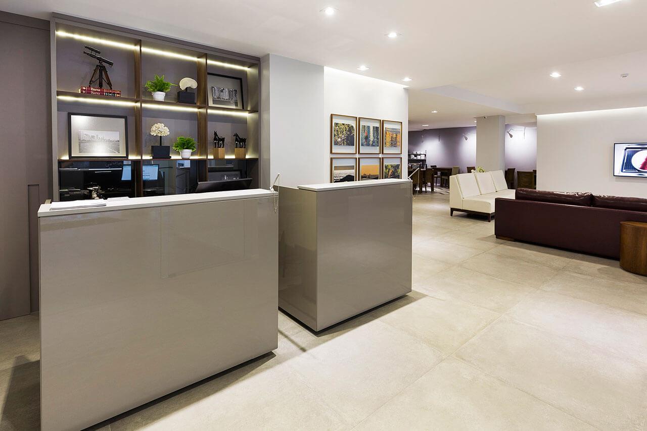 Foto Recepção Tropikalya Gold Hotel