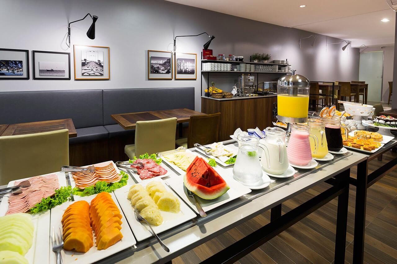 Foto Café da Manhã com frutas Tropikalya Gold Hotel