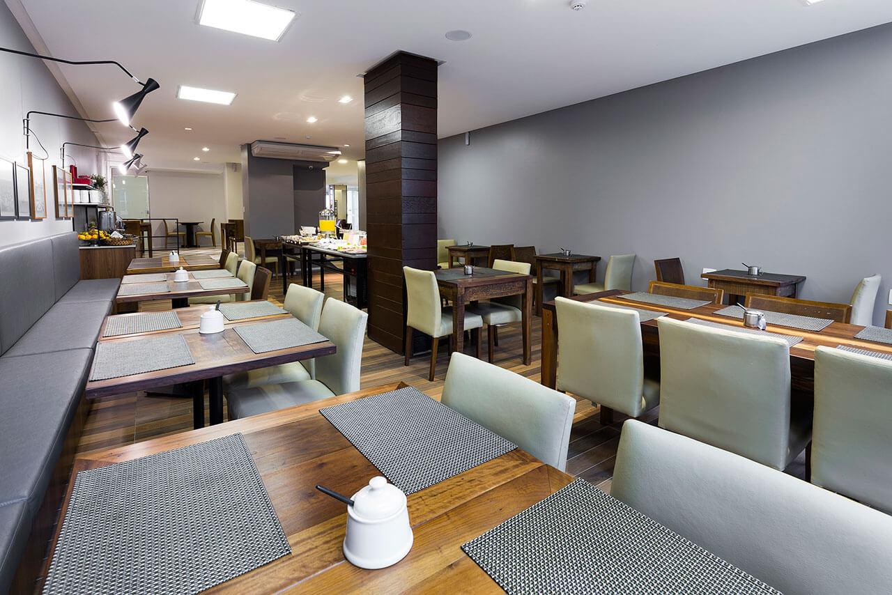 Foto Sala do Café da Manhã Tropikalya Gold Hotel